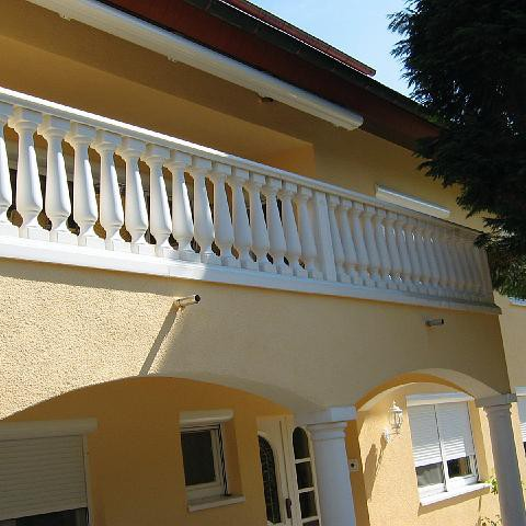 Balkon mit Balustrade TRAX 1109