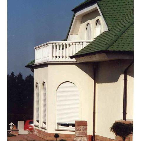 TRAX Balustrade 1109: Balkon in Hettenleidelheim, Rheinland-Pfalz