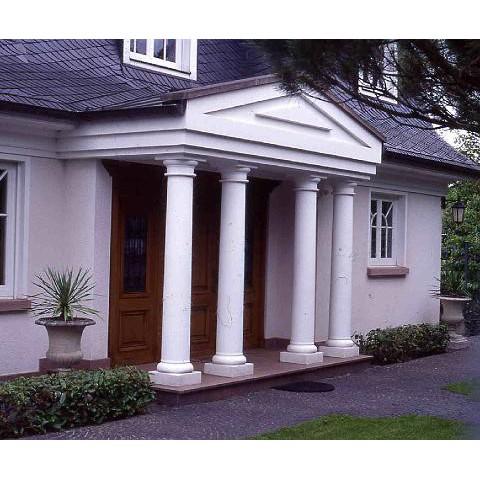 Hauseingang mit Säulenportal in Weinheim, Berstrasse - TRAX 1016