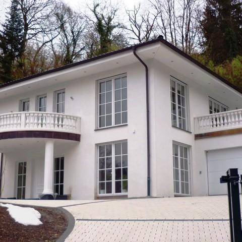 Villa mit Rundbalustrade in Heidelberg - TRAX 1116