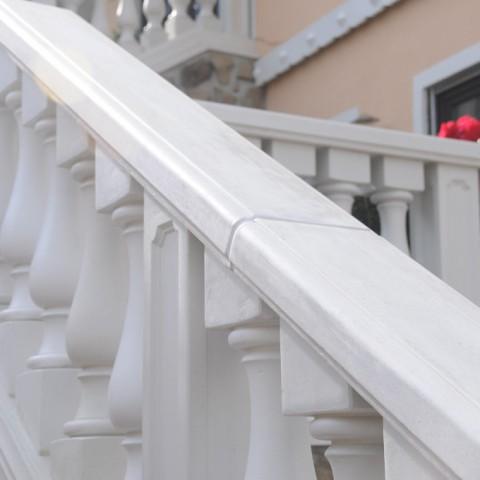 Treppenaufgang mit Balustrade in Mauer, Baden